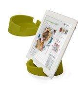 Podstawka kuchenna pod tablet zielona - małe zdjęcie
