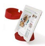 Podstawka kuchenna pod tablet czerwona - małe zdjęcie
