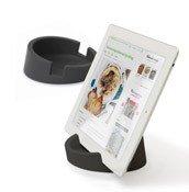 Podstawka kuchenna pod tablet szara - małe zdjęcie