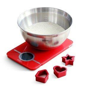 Waga Essential w zestawie do pieczenia z misą i foremkami