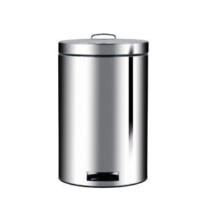 Kosz na śmieci pedałowy 20l z wkładką BIO