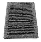 Dywanik łazienkowy Cawo ręcznie tkany 60 x 60 cm antracytowy - małe zdjęcie