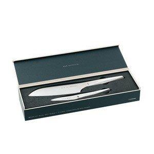 Nóż Santoku i nóż do obierania Type 301 w zestawie