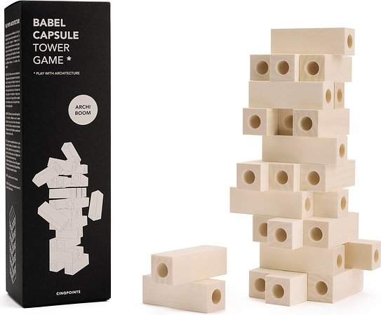 Gra Babel Tower Game Capsule