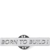 Pin Cinqpoints&Titlee Born to Build - małe zdjęcie