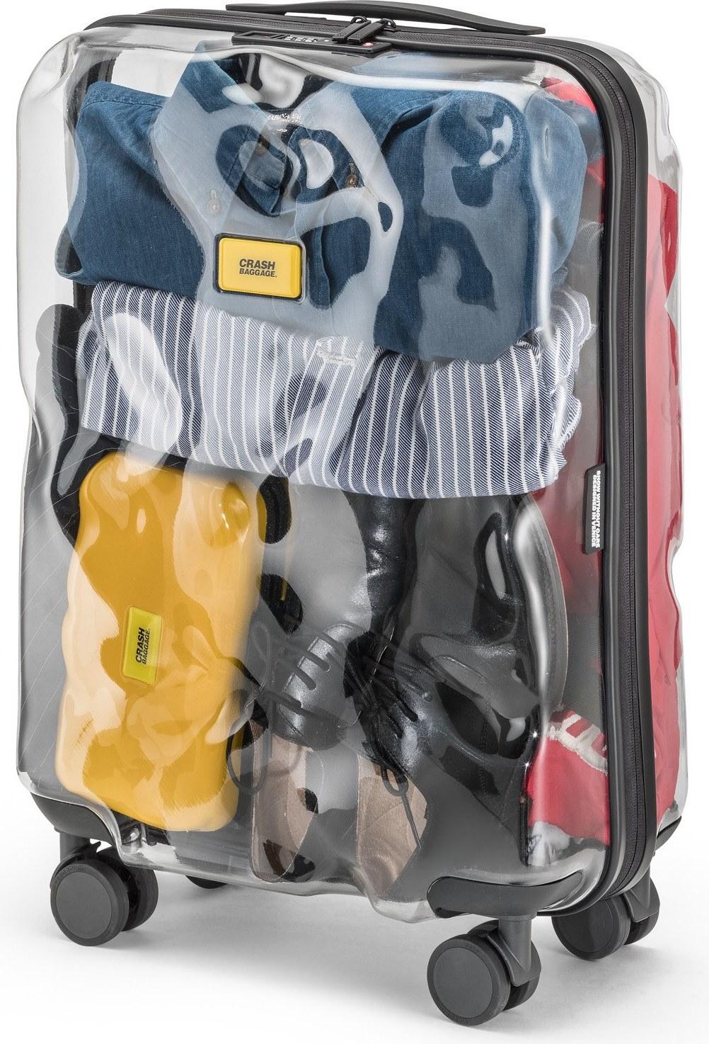 5226e3017c504 Walizka Share Transparent - Crash Baggage CB141.50 | Fabryka Form