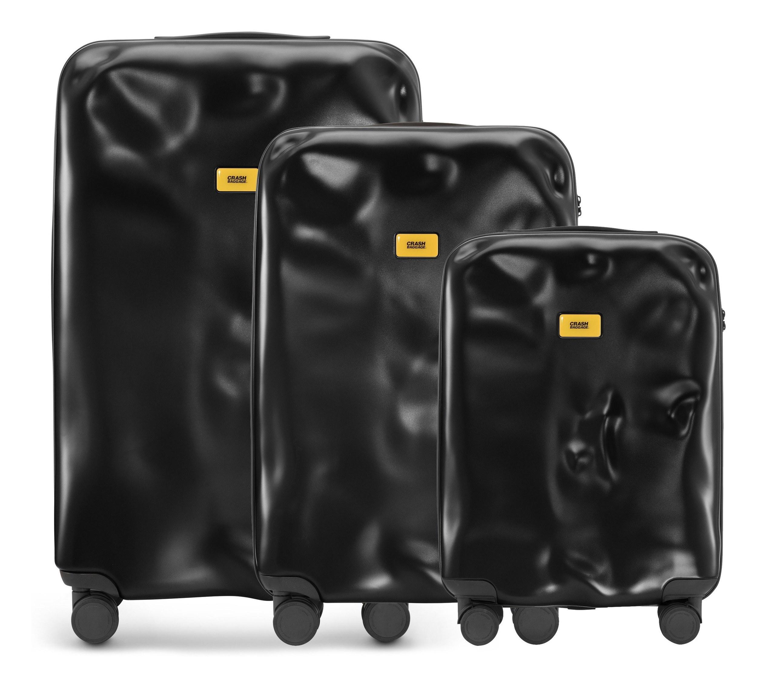 02b3927e02c11 Walizki Icon w zestawie 3 el. - Crash Baggage CB160.01 | FF