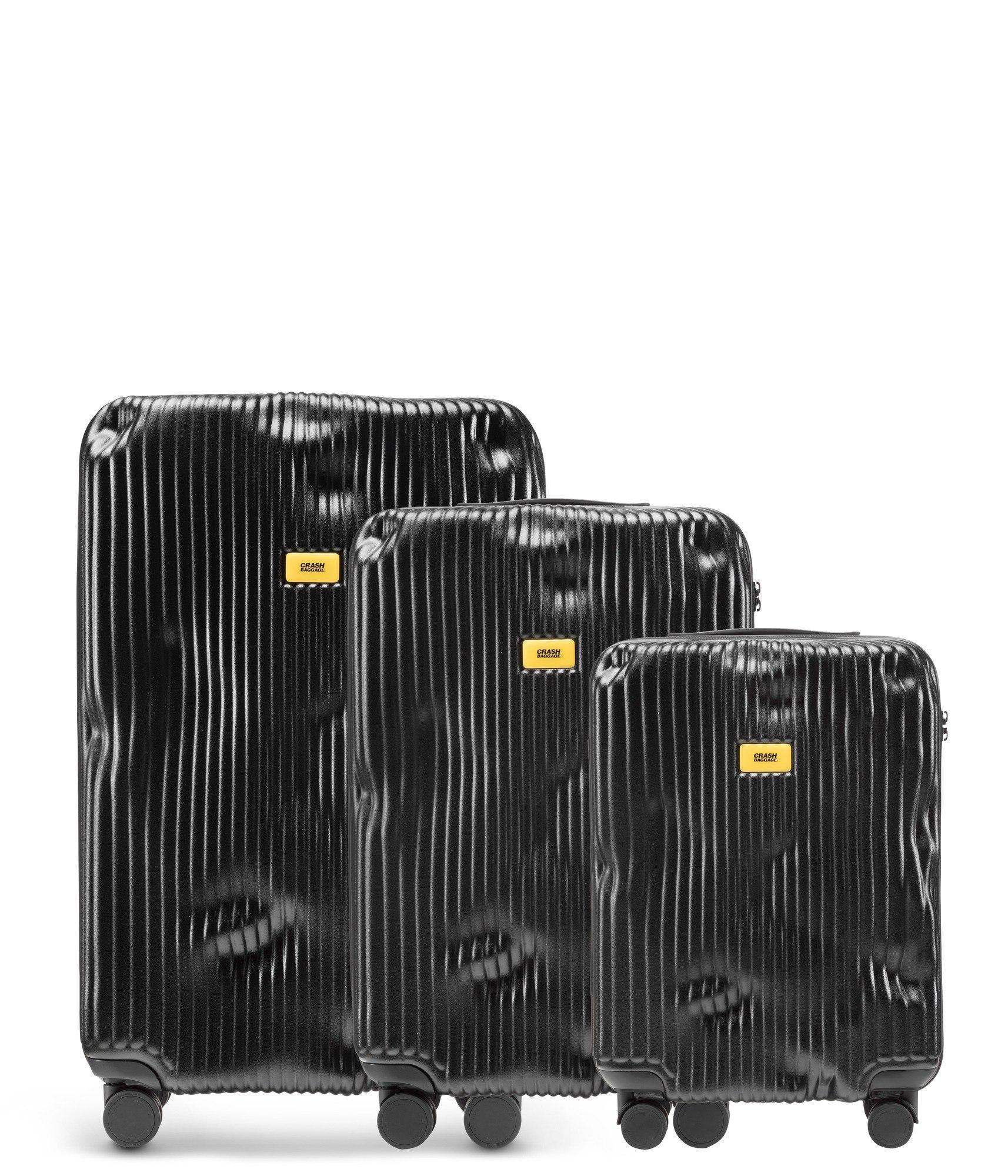 6d98f2bd47143 Walizki Stripe w zestawie 3 el. - Crash Baggage CB150 | FF