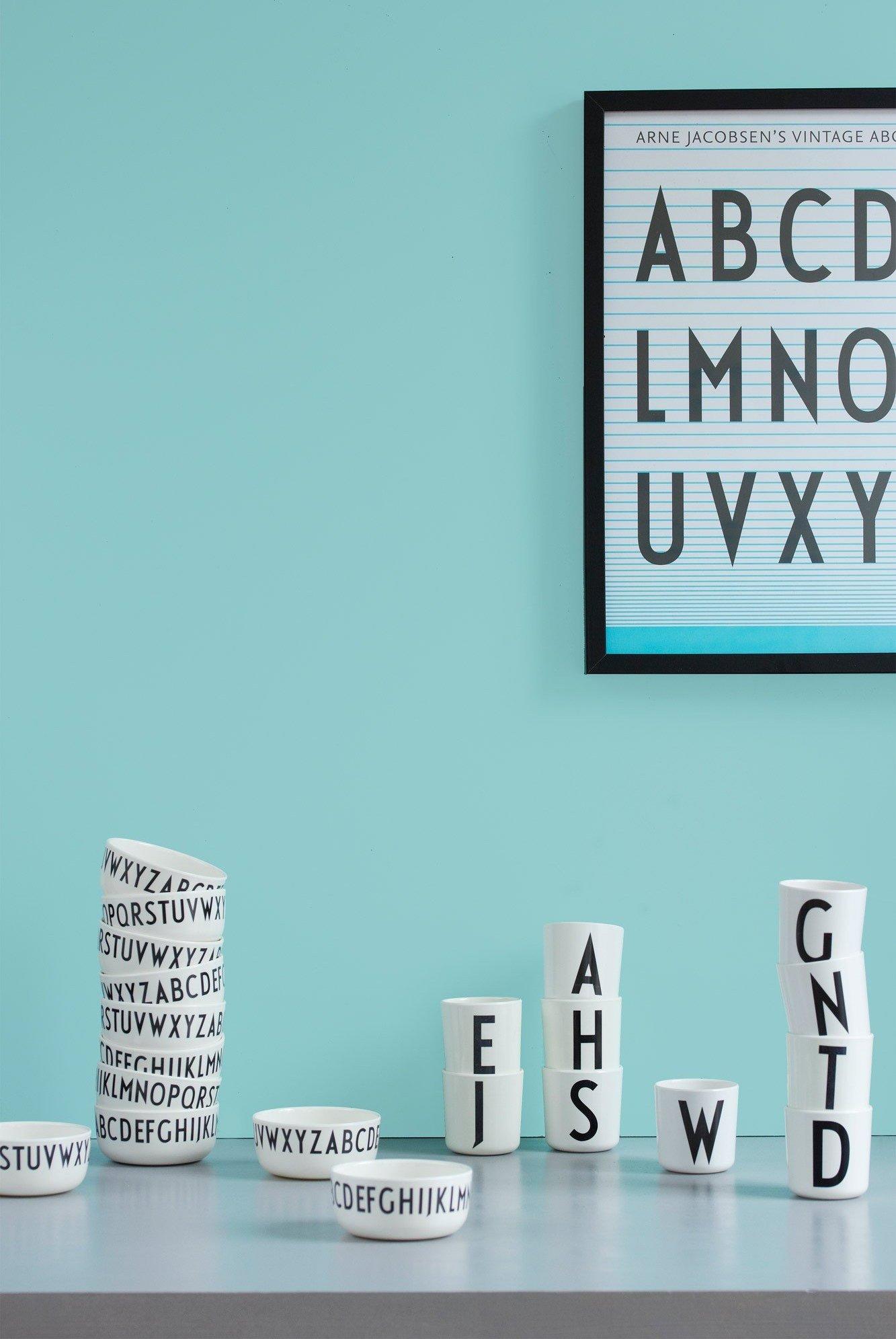 Plakat Arne Jacobsens Vintage ABC - Design Letters ...