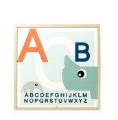 Plakat Done by deer Zoopreme ABC - małe zdjęcie