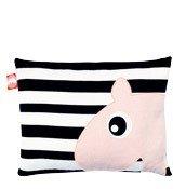 Poduszka czarno-biała Done by deer - zdjęcie 1
