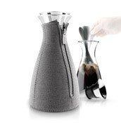 Zaparzacz do kawy Cafesolo dzianina neoprenowa ciemnoszary - małe zdjęcie