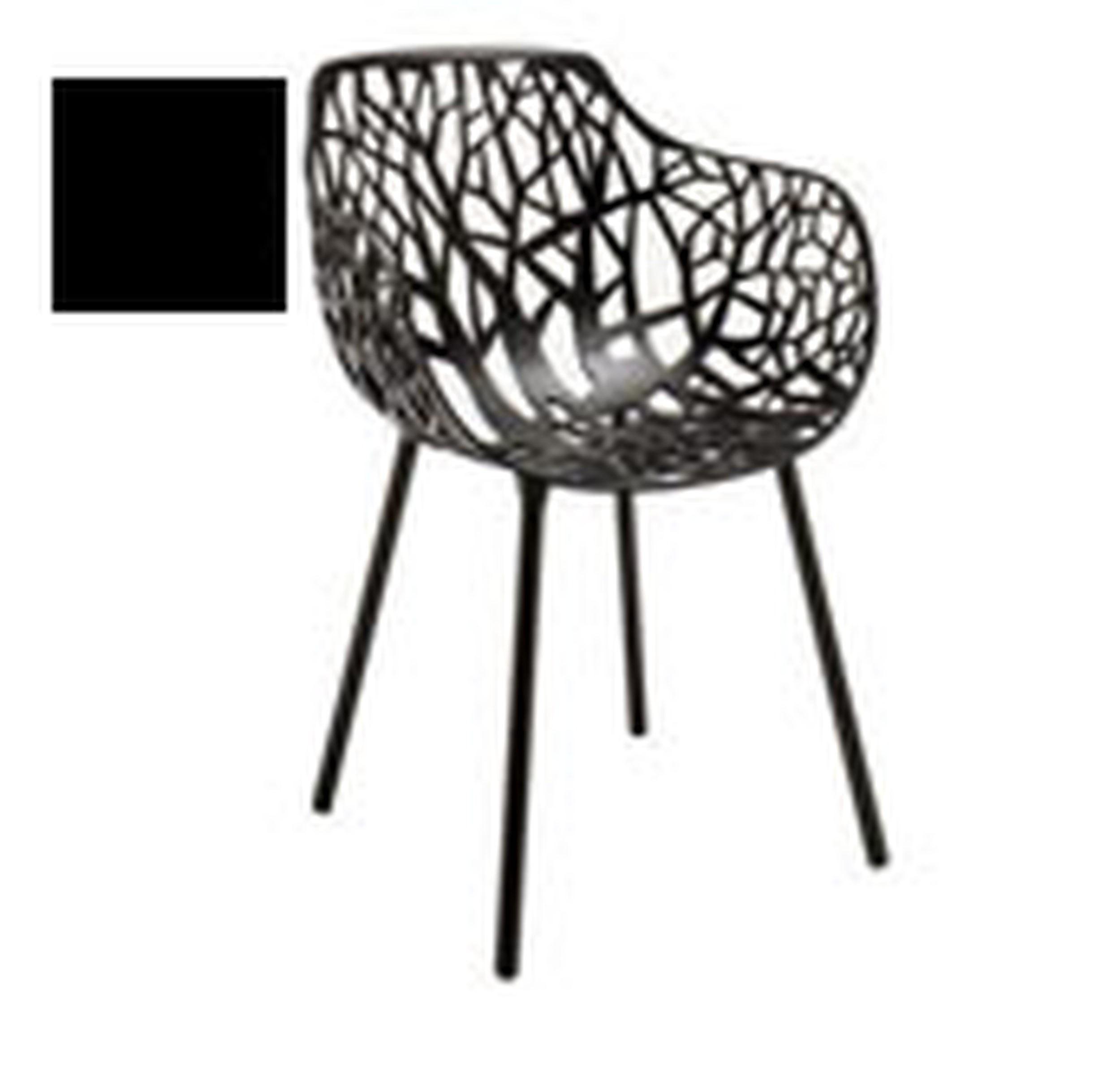 Krzesło Forest czarne - małe zdjęcie