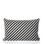 Poduszka prostokątna Black Stripe - małe zdjęcie