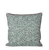 Poduszka Dottery niebieska - małe zdjęcie