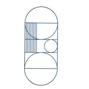 Dekoracja ścienna Outline owalna
