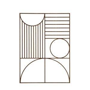 Dekoracja ścienna Outline prostokątna