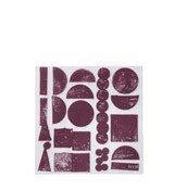 Serwetki papierowe Stamp - zdjęcie 1