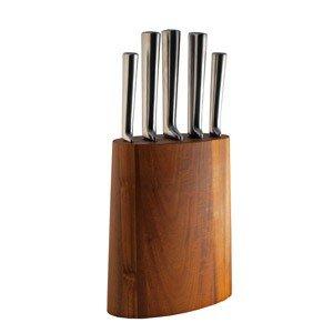 Blok z nożami 6 części Akazia