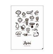 Plakat Jesień - Jedz sezonowo