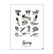 Plakat Spring - Eat Seasonally