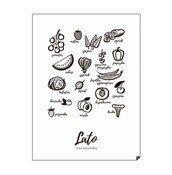 Plakat Lato - Jedz Sezonowo