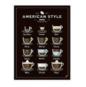 Plakat American Style Coffee