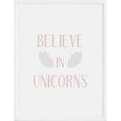 Plakat Believe in Unicorns