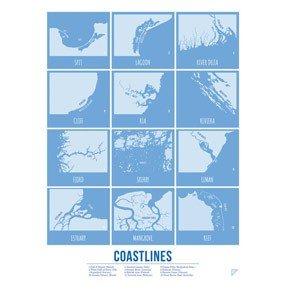Plakat Coastlines