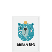 Plakat Dream Big