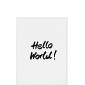 Plakat Hello World!