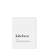 Plakat Kitchen