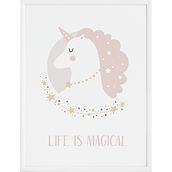 Plakat Lady Unicorn