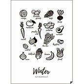 Plakat Winter - Eat Seasonally