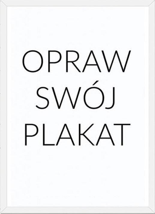 Rama Na Plakat Biała