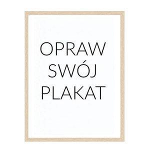 Rama na plakat drewniana 30 x 40 cm