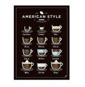 Plakat American Style Coffee - zdjęcie 1