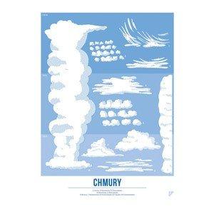 Plakat Chmury