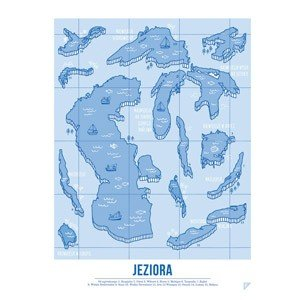 Plakat Jeziora