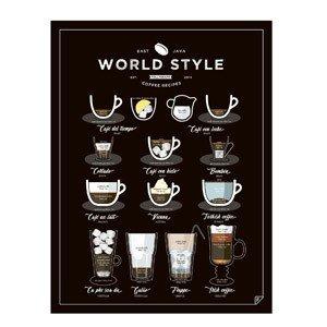 Plakat World Style Coffee