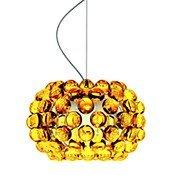 Lampa wisząca Caboche Piccola pomarańczowa - małe zdjęcie