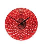 Zegar ścienny Toujours czerwony - małe zdjęcie