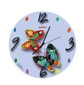 Zegar ścienny Volare Blue - małe zdjęcie