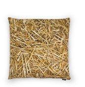 Poduszka z wypełnieniem z łusek gryki Hayka 40 x 40 cm słoma - małe zdjęcie