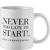 Kubek Anna Lewandowska Never Too Late to Start