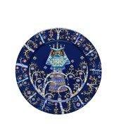 Talerz płaski 27 cm Taika niebieski