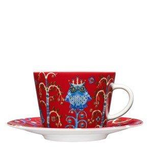 Filiżanka do cappuccino Taika czerwona