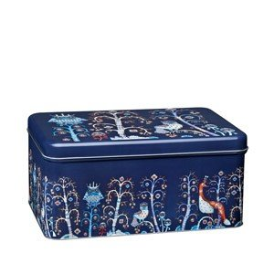 Pudełko metalowe Taika niebieskie