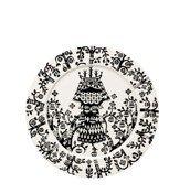 Talerz płaski 27 cm Taika czarny - zdjęcie 1