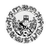 Talerz płaski 30 cm Taika czarny - zdjęcie 1